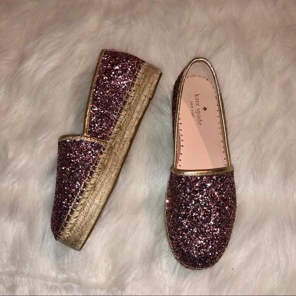 d4b690e05 kate spade Shoes | New Linds Too Rose Gold Espadrille | Poshmark